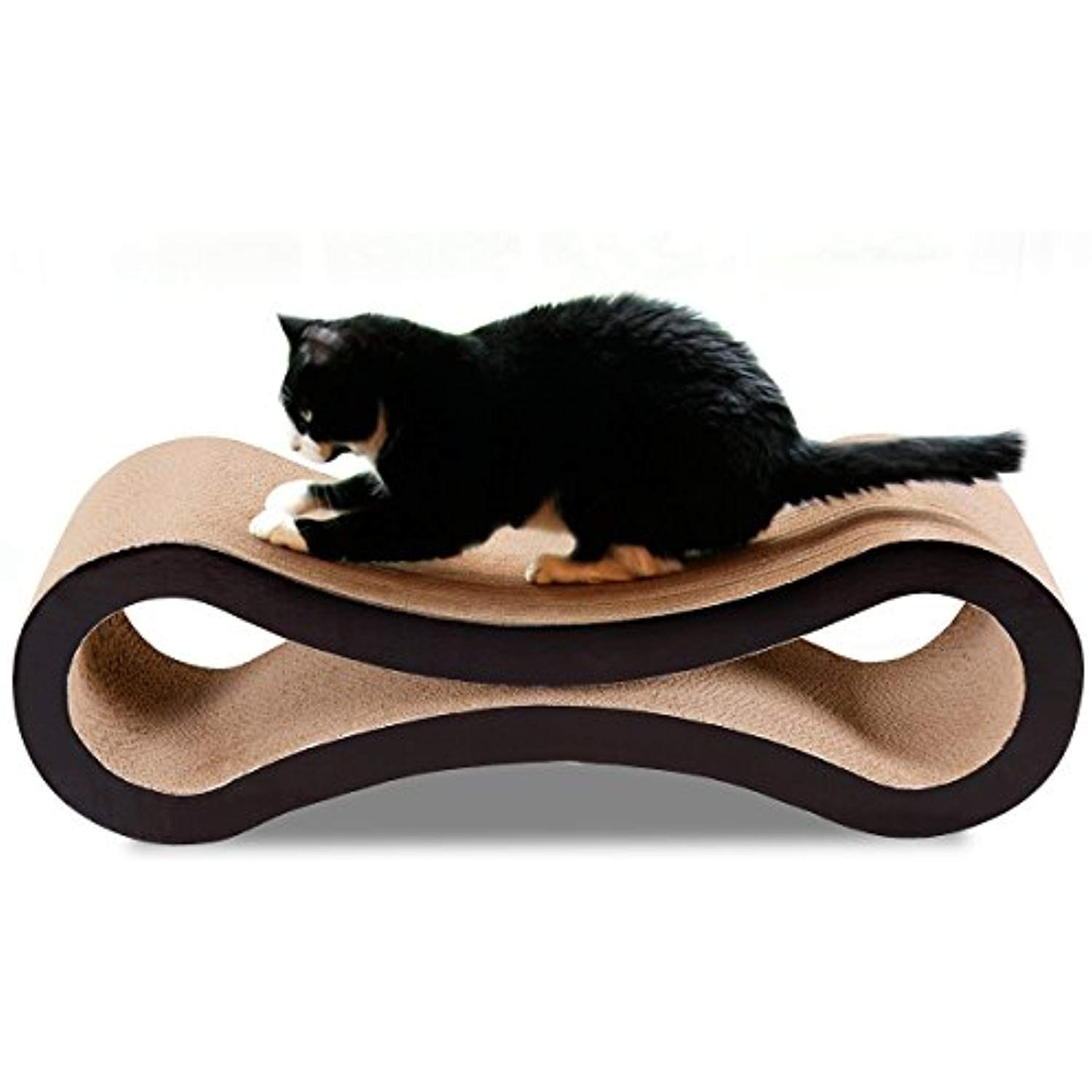 Giantex Pet Ultimate Kitten Toy Cat Scratcher Lounge Pad Scratching Board Post Claw You Can Find Out Mo Cardboard Cat Scratcher Cat Scratcher Pet Scratcher