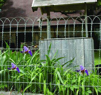 ornamental loop wire fence Google Search Fence fun Pinterest