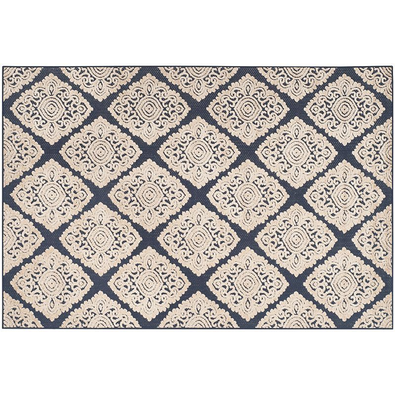 Safavieh Cottage Acadia Medallion Indoor Outdoor Rug, Multicolor