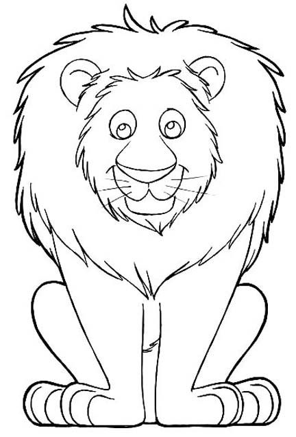 Fun With Lion Coloring Pages With Images Lion Coloring Pages