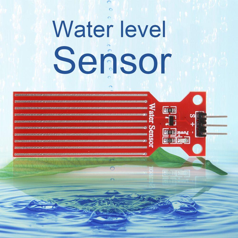 1pc High Sensitivity Water Liquid Level Sensor Rain Water Level Sensor Module Detection Liquid Surface Depth Height For Arduino Level Sensor Sensor Surface