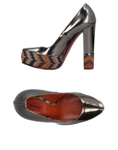 MISSONI Women's Pump Bronze 6 US