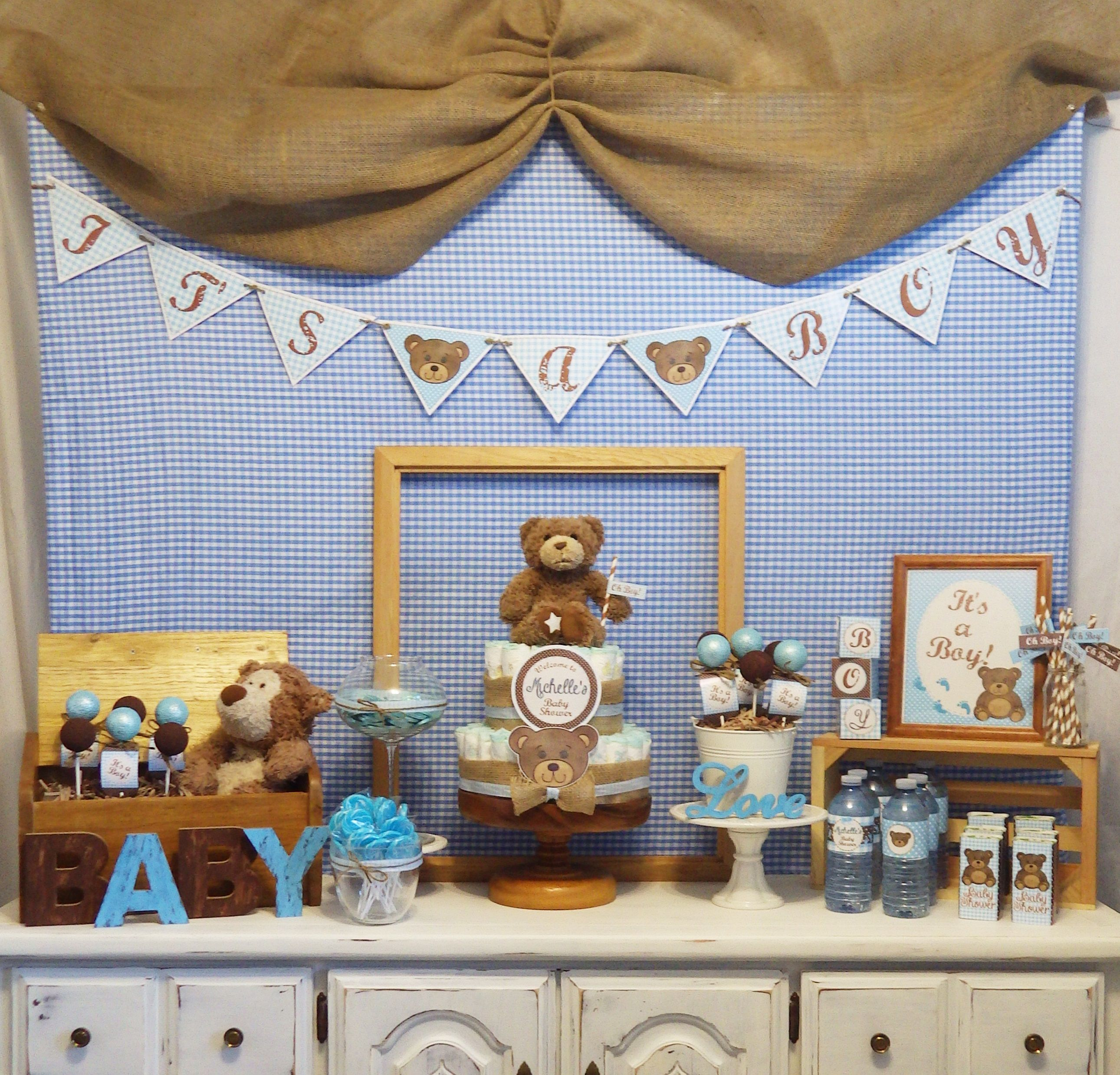 Ideas Baby Shower Nino Ositos.Teddy Bear Baby Shower Ideas Printable By Epic Parties By