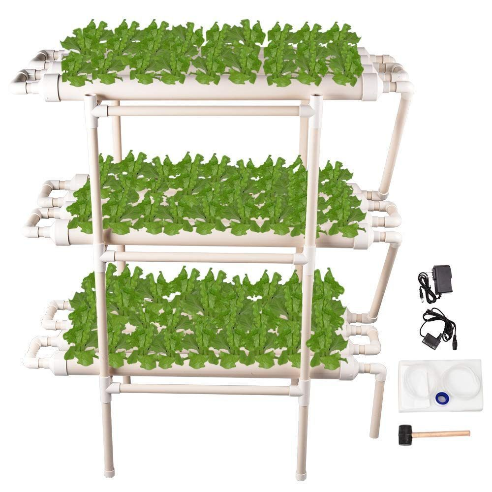 Giraffe X Hydroponic Grow Kit 108 Sites 12 Pipes 3 Layers Hydroponic Planting Eq In 2020 Grow Kit Hydroponic Growing Hydroponics