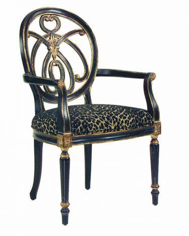 Jennifer Arm Chair Hooker Furniture Decorative Chairs