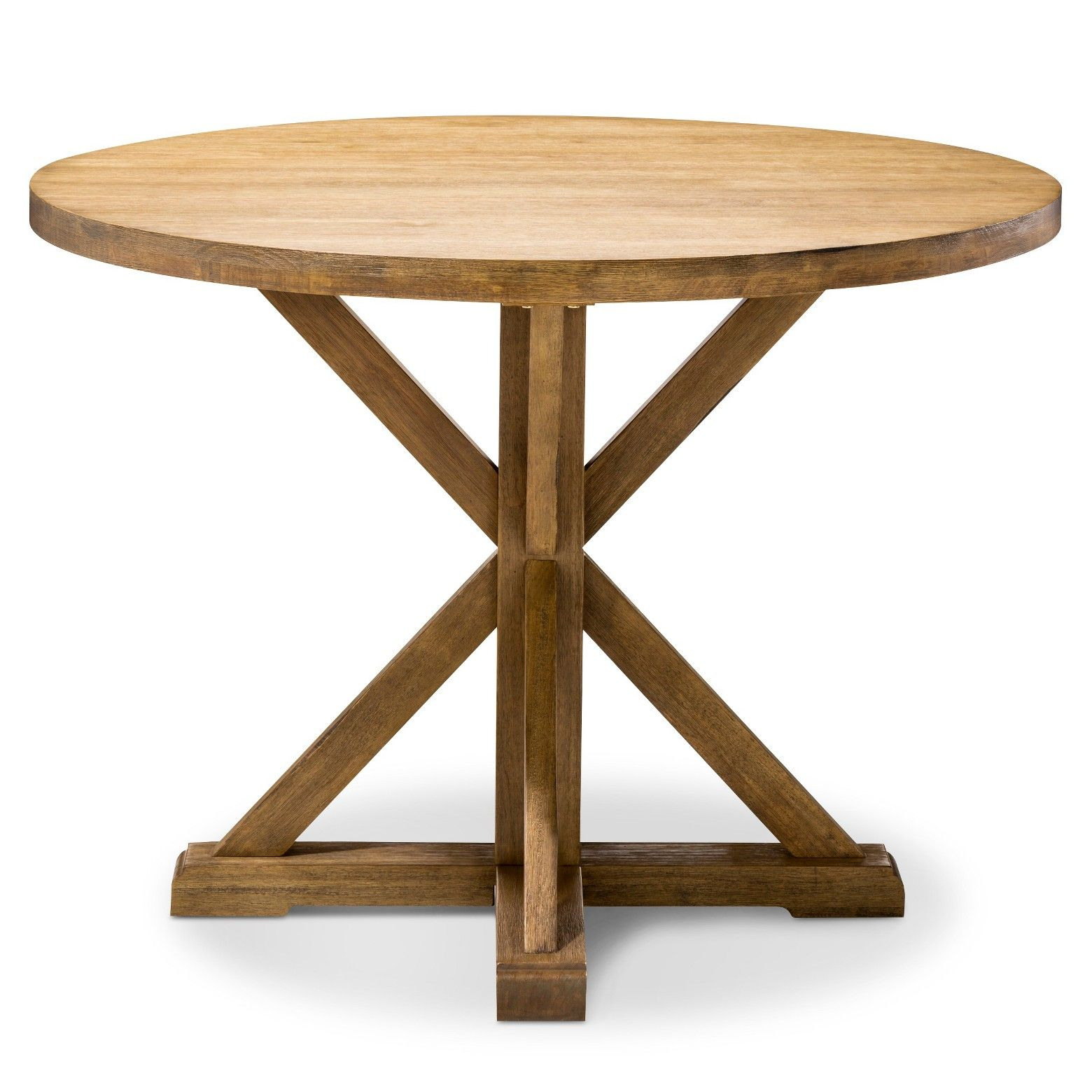 The Farmhouse Round Dining Table Has That Expertly Crafted Look That Brings To Mind Country Artisa Round Dining Table Farmhouse Round Dining Table Dining Table