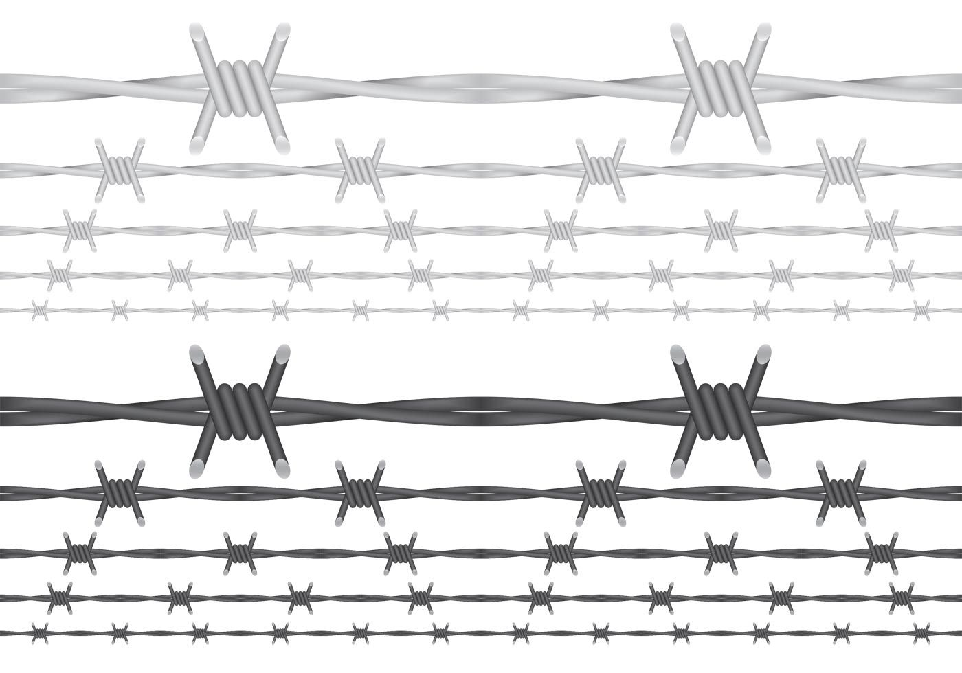Barbed Wire Vectors | REINSERTA | Pinterest | Silhouettes