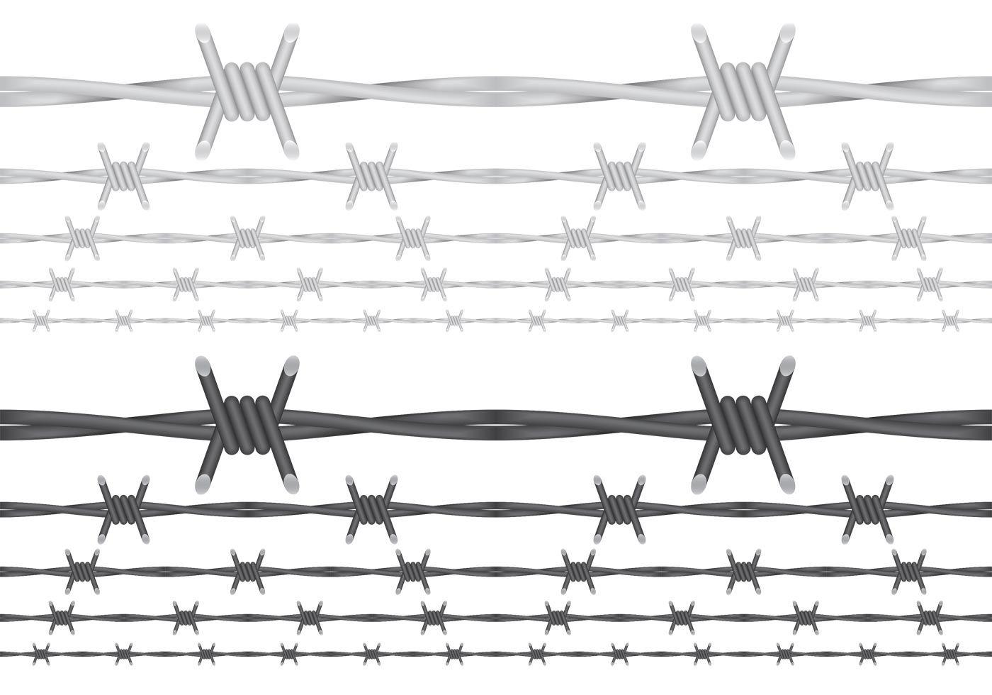 Barbed Wire Vectors