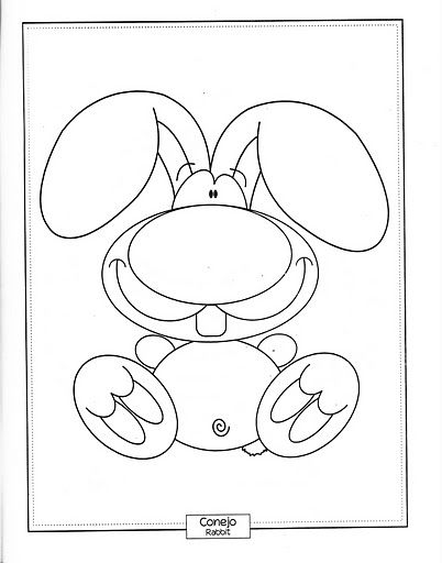 Conejos Unicorn Artwork Coloring Pages Stuffed Animal Patterns