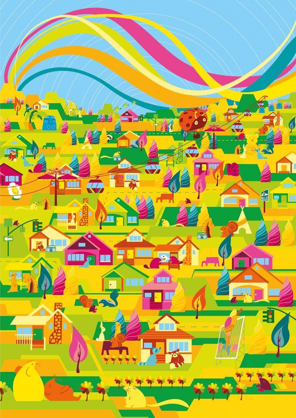 Poster design using illustrator - Adobe Illustrator Tutorial Create A Super Bright And Colourful Vector Poster In Illustrator Digital Arts Adobe Illustrator Pinterest Adobe