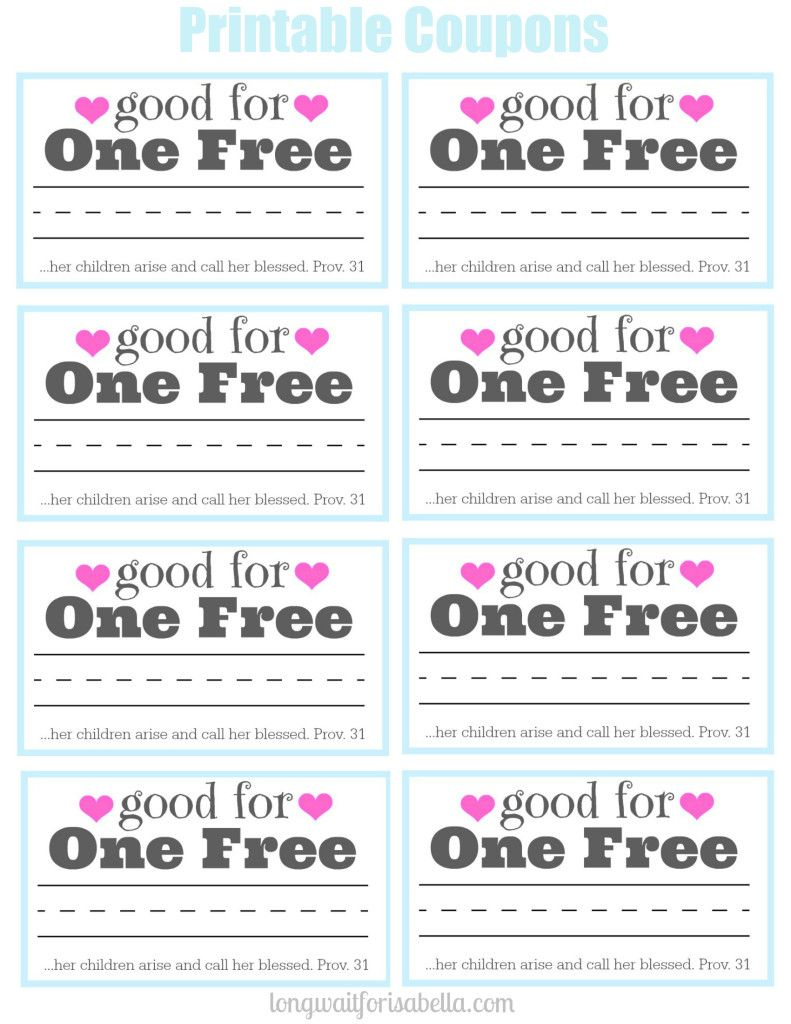 printable coupon book for mom mothers mother s day and mom printable coupons for mom