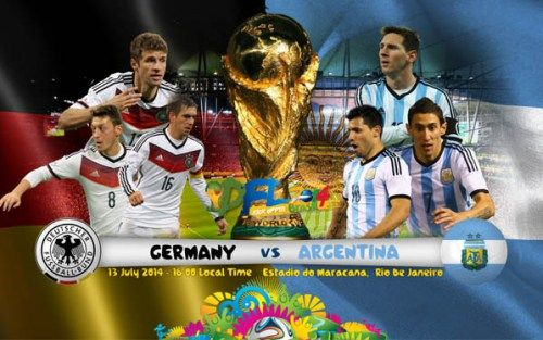 FULLMATCH : FIFA World Cup 2014 : Germany vs Argentina – FINAL   Trophy…