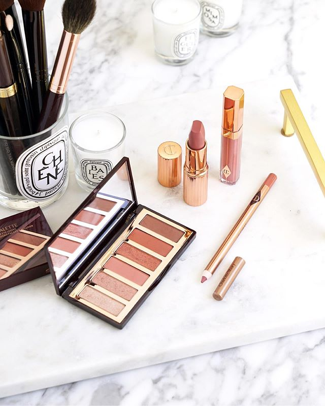 Perfect everyday rose neutrals with the ctilburymakeup