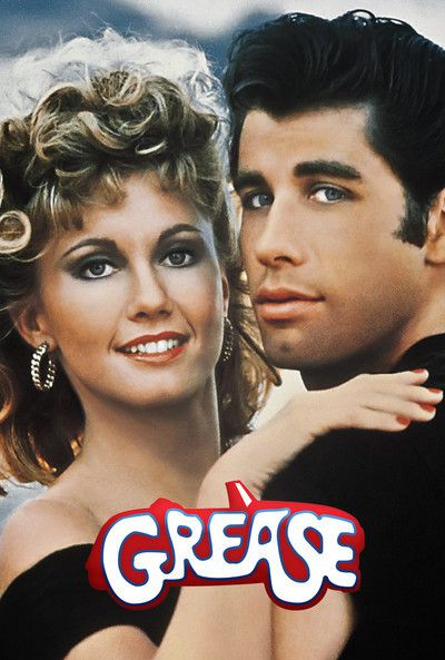 Grease Movie Poster | 1950's American Dream | Grease movie