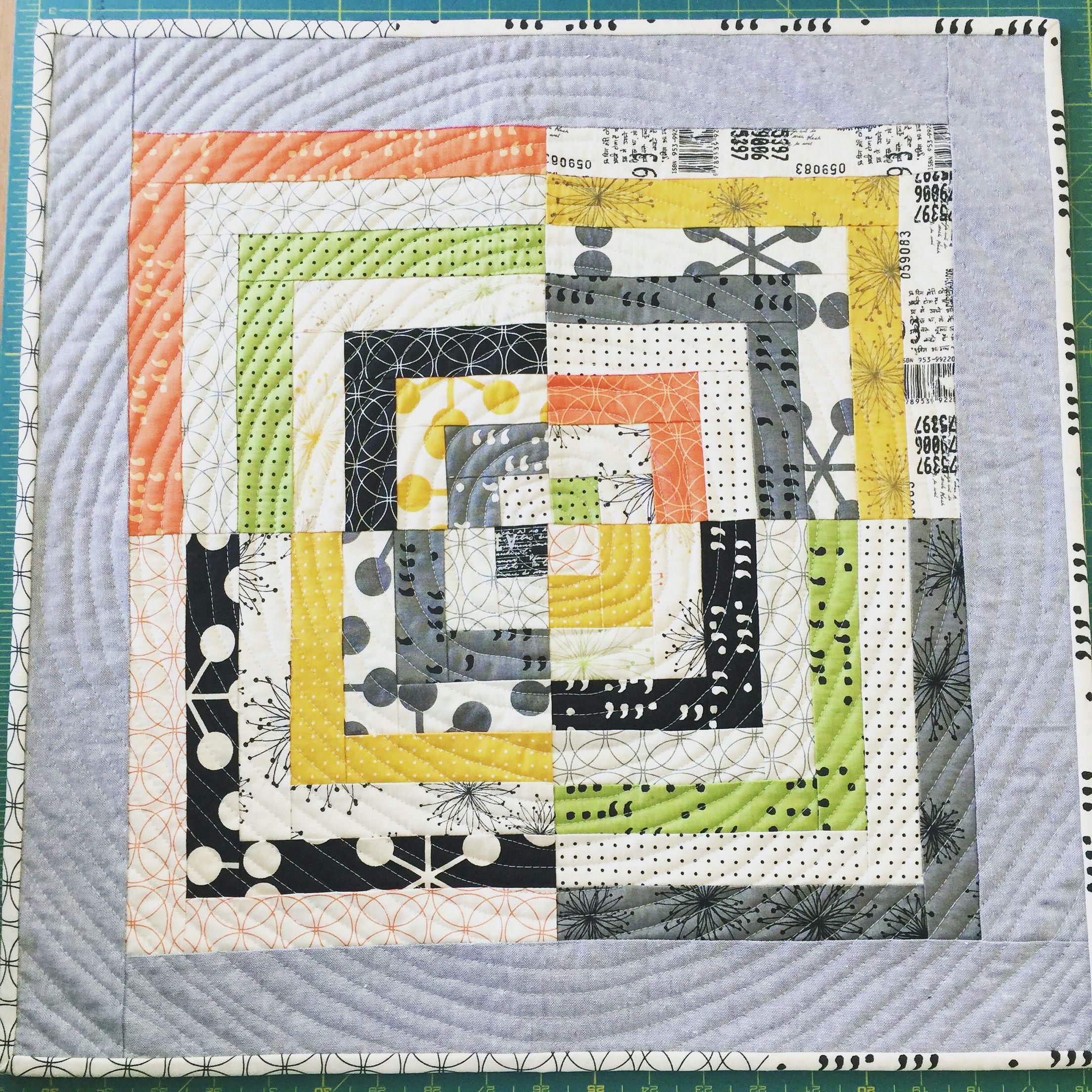 zen chic mini quilt the lady in thread q u i l t s pinterest
