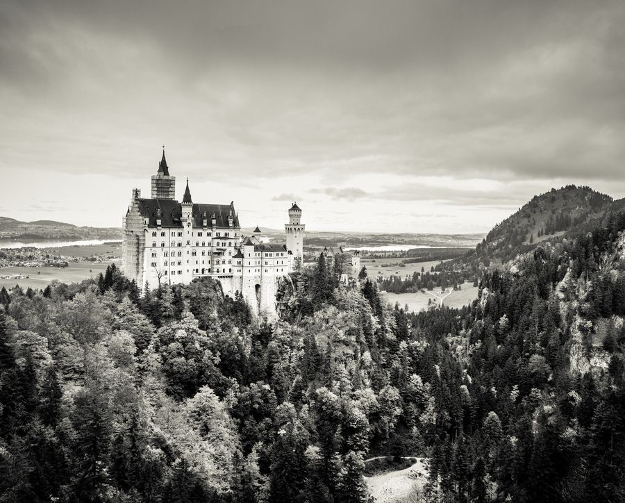 Neuschwanstein by Marcel Bednarz on 500px