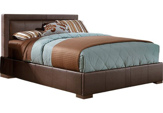Shop For A Villa View Brown 3 Pc Queen Bed At Rooms To Go Find Queen Beds That Will Look Great In Y Affordable Furniture Stores Diy Bedroom Storage Queen Beds