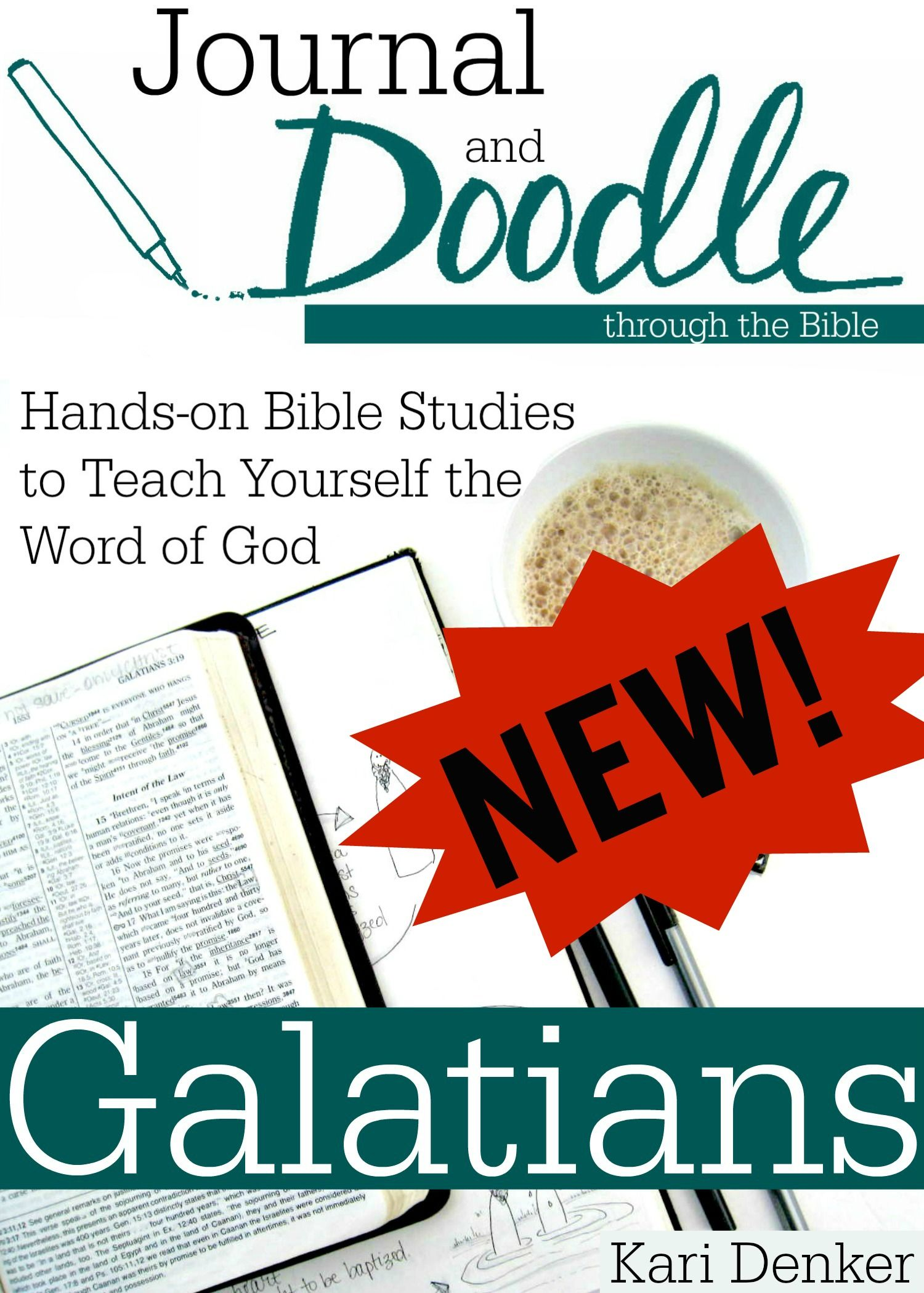 Journal and Doodle Bible study All new Biblejournal Biblestudy
