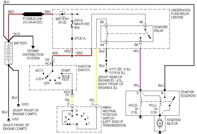Neutral Safety Switch Wiring Diagram & 5 Pin Relay Wiring