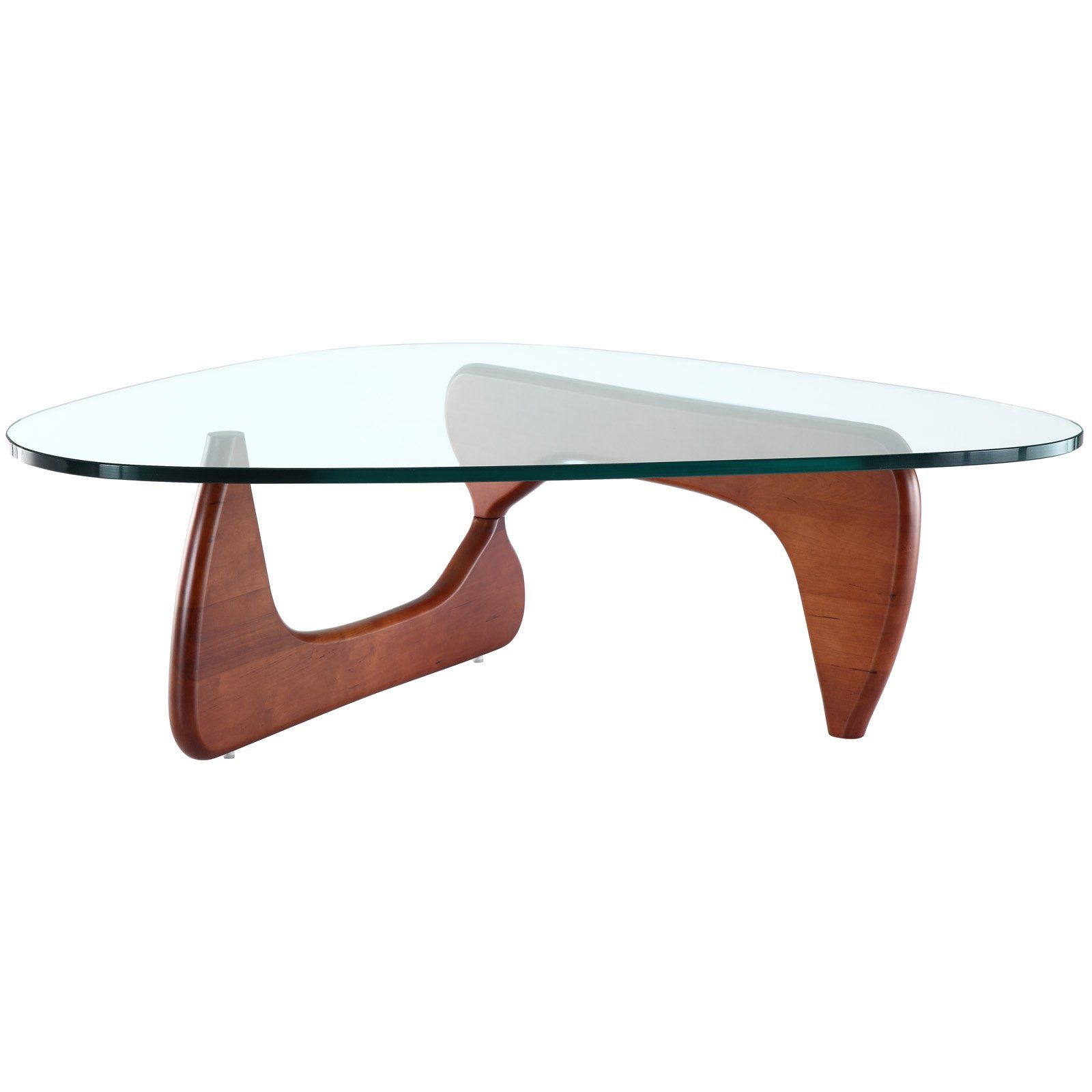 Triangle Coffee Table in Cherry Lake House Furniture