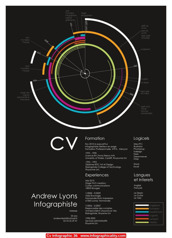 Cv Infographic 36