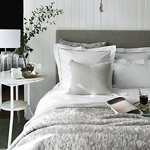 Santorini Bed Linen Collection Bed Linen The White Company