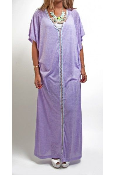 Inca Sun Dress Lavender - Pitusa