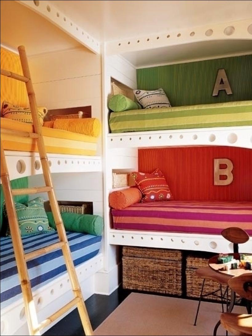 Built in loft bed ideas  galleryofimagesforcolorfulbunkbedideasletterwalldecoration