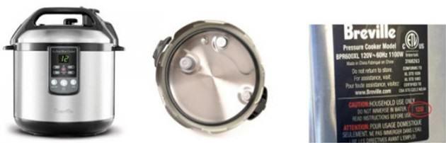 Consumer Alert Breville Fast Slow Cooker Gasket Recalled Hip Pressure Cooking Hip Pressure Cooking Pressure Cooking Slow Cooker