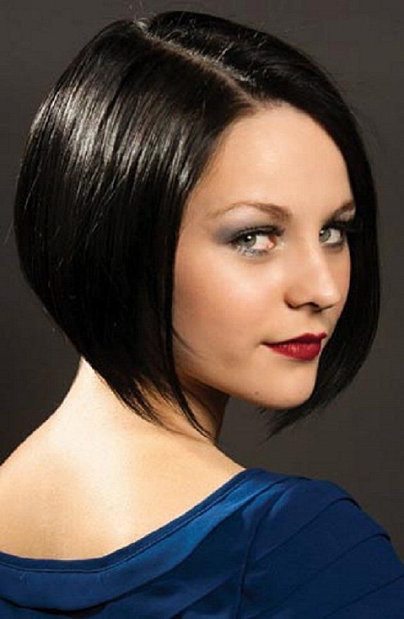 Short Bob Hairstyles For Round Faces And Fine Hair With Natural