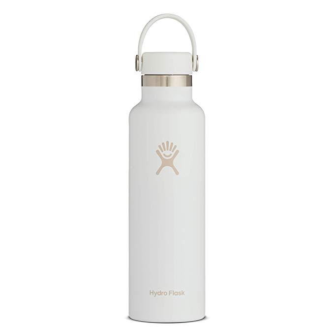 Amazon Com Hydro Flask Skyline Series Water Bottle Flex Cap 21 Oz White Sports Outdoors Hydro Flask Colors Hydro Flask Water Bottle White Water Bottle
