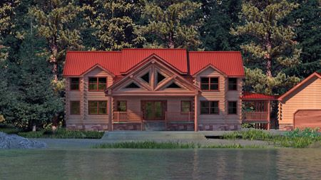 Best Of Log Home Designs and Prices