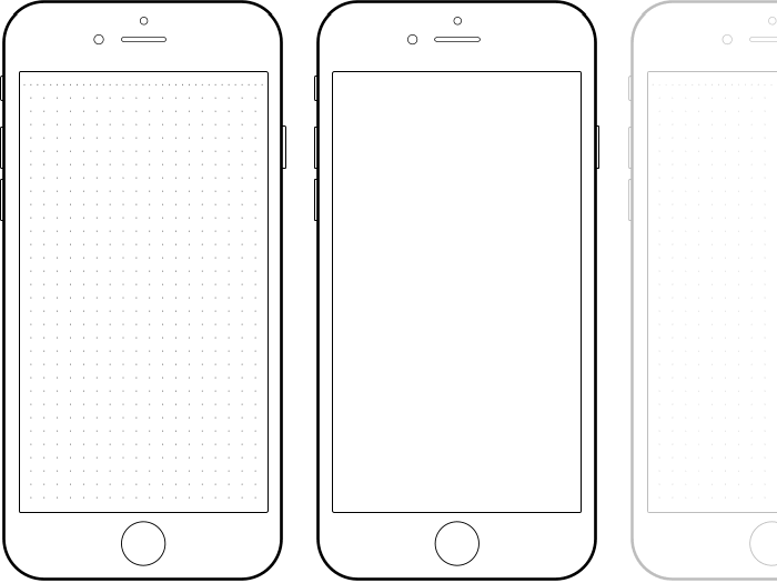 IPhone 6 Drawing Template