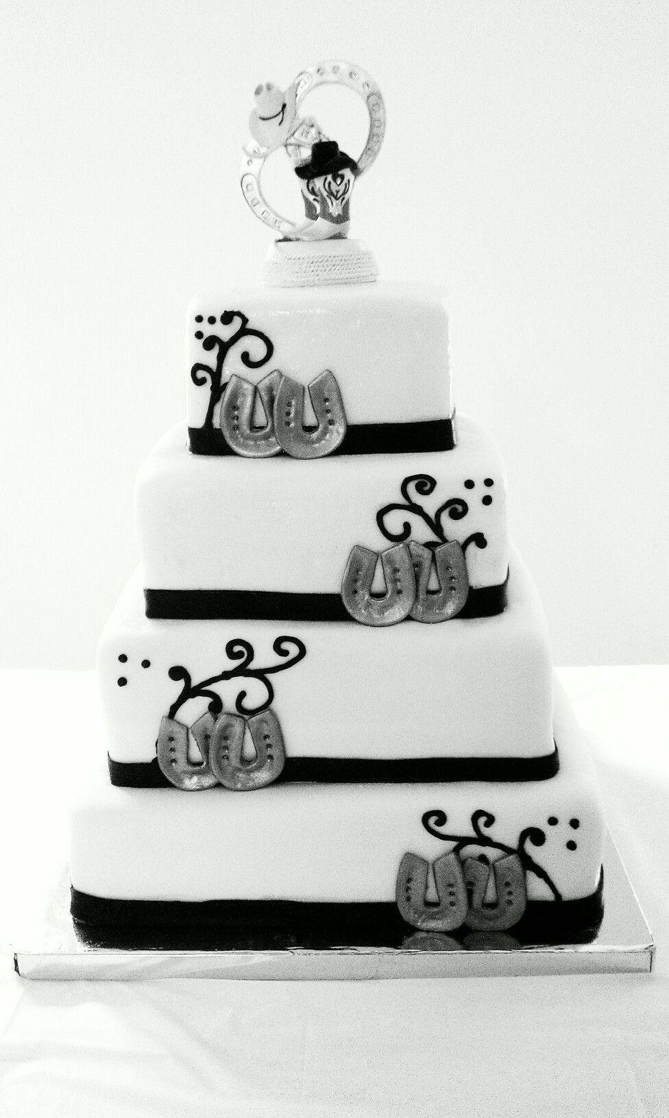 Western theme wedding cake | Cakes | Pinterest | Western theme ...