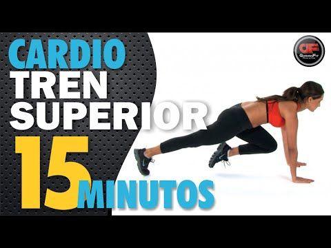 Rutina De Cardio Para Tonificar Tren Superior Cardiomax Rutina 3 Youtube Cardio Sesiones De Ejercicio Ejercicios Tren Superior