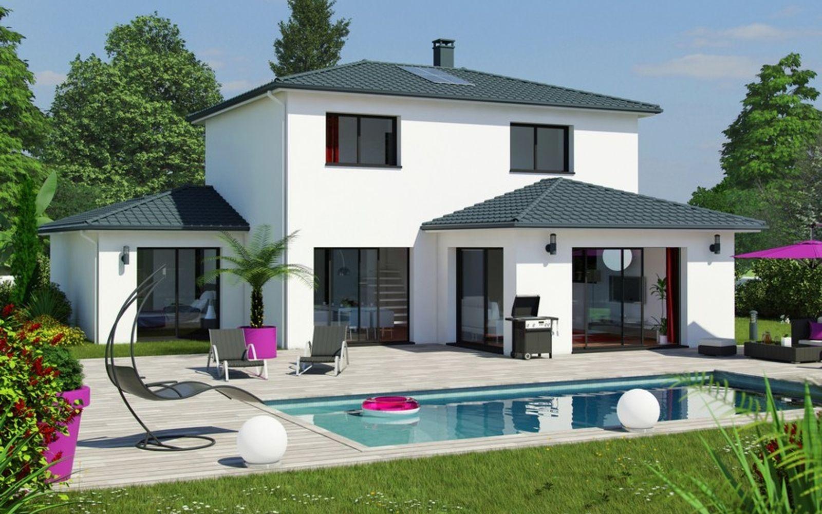 Mod le ma va maison pinterest mod le et plans for Modele maison californienne