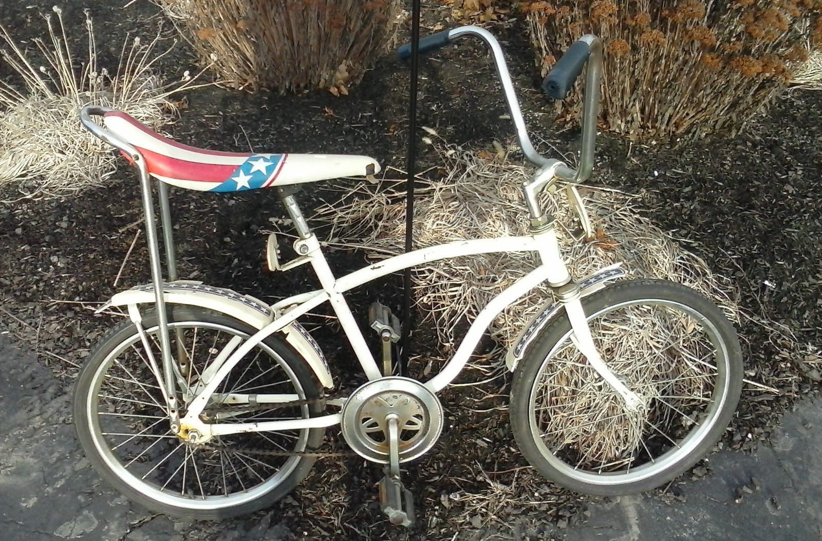 Huffy huffman evel knievel bananna seat bicycle restore project ebay