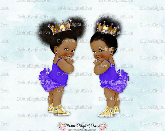 Baby Girl 3 Skin Tones Ruffle Pants Coral /& Gold Sneakers Pony Pattern Clipart Instant Download