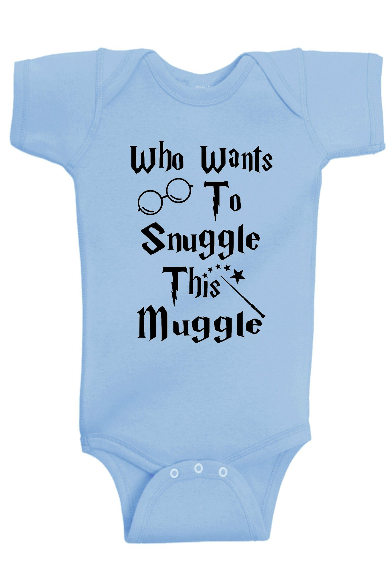 20ef55b6a Aidens Corner Who Wants To Snuggle This Muggle Funny Baby Boy  #BabyGirlClothingCollection