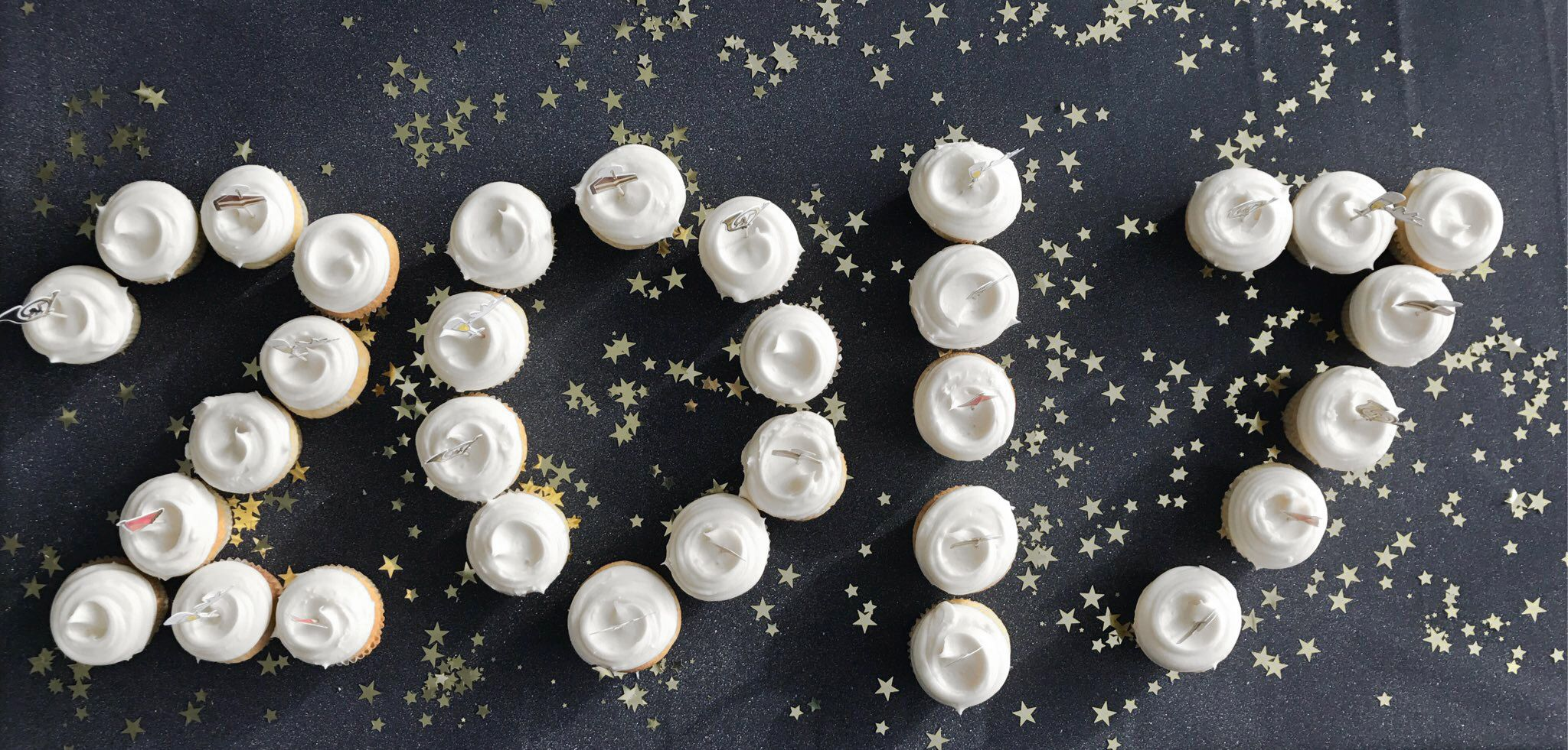 Say Happy New Year with cupcakes Darcy Miller Designs