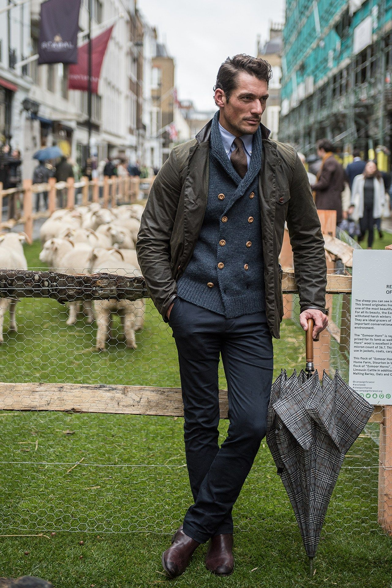 Learn from these 31 superblysuited men on Savile Row is part of Mens fashion smart - Wool Week kicked off in London today, and we were there to shoot the bestdressed men on show