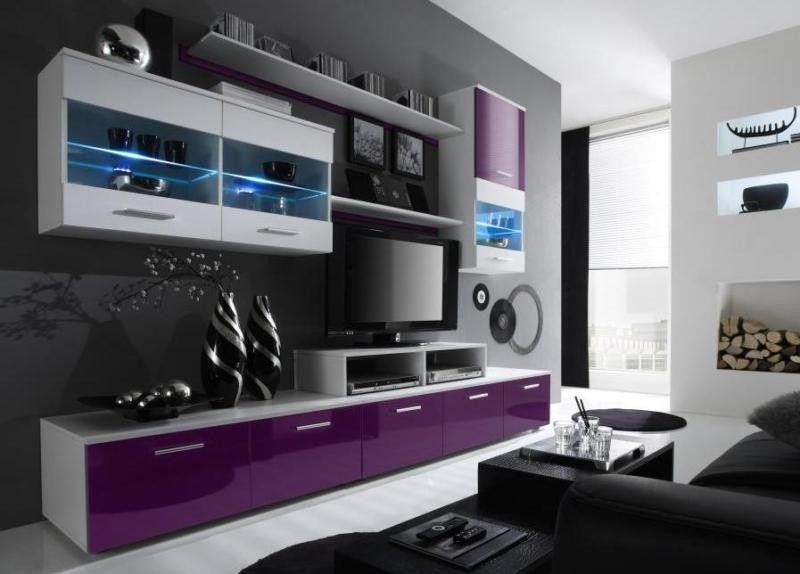 Wohnzimmerschrank Schwarz ~ Tv schrank lowboard sideboard sky schwarz matt schwarz