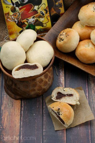 sweet bean buns 2 ways plus a kung fu panda inspired roundup for food n flix from heather schmitt gonzalez
