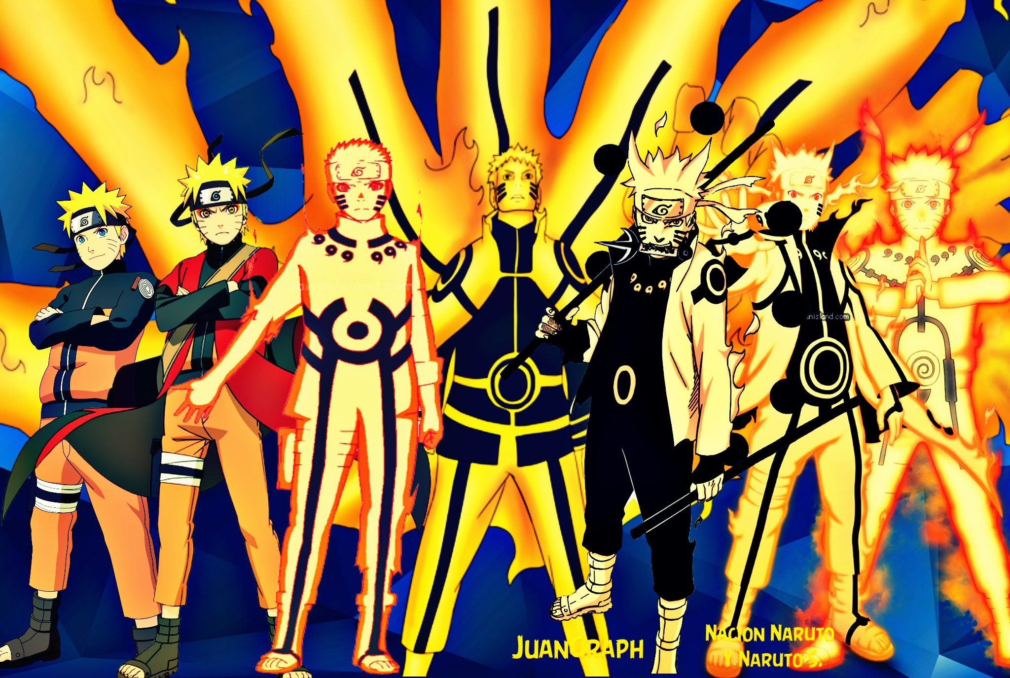 Naruto Uzumaki All Forms Naruto Naruto Shippuden Naruto The