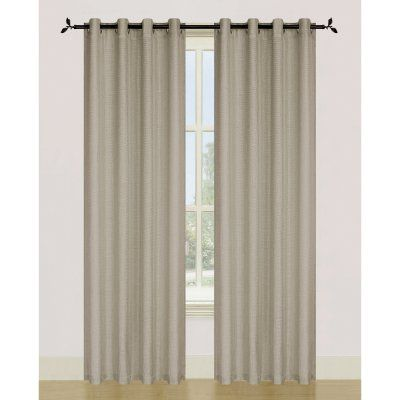 Beautiful Dainty Home Ellen Tracy Spectrum Grommet Panel Pair Taupe SPEC TA New Design - Beautiful Beige Curtains Beautiful