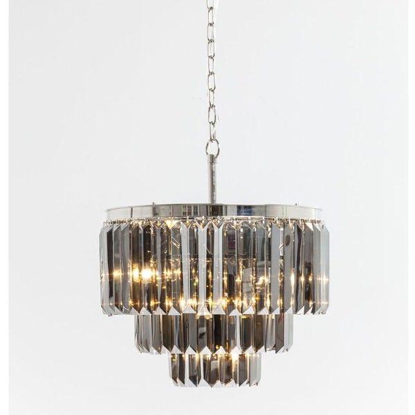 Style Of Mid century · lámpara Smoky Lounge redonda Elegant - Fresh mid century ceiling light Elegant