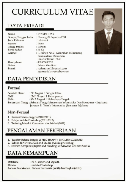 Bahasa indonesia resume