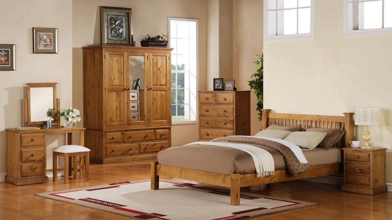 pine bedroom furniture with brown bed cover bedroom vanity pine