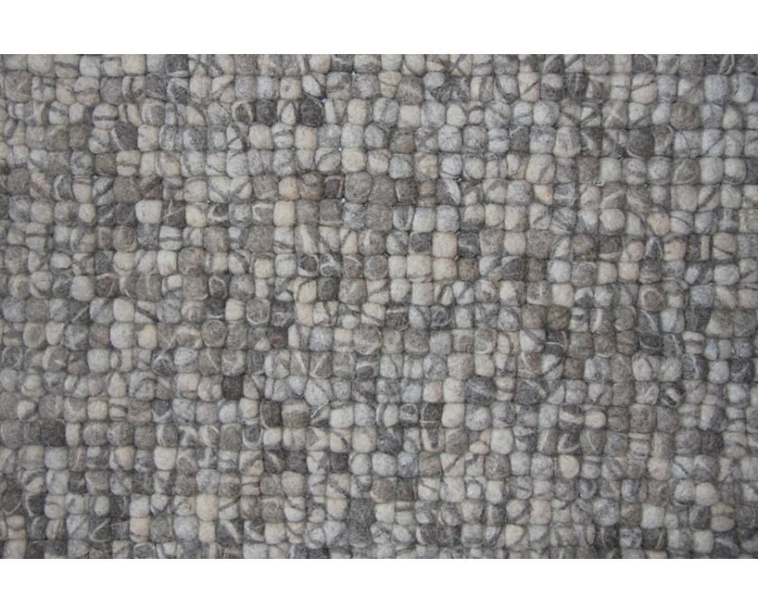 Weylandts | Products | Homeware | Handwoven Felted Balls Rug (Natural)