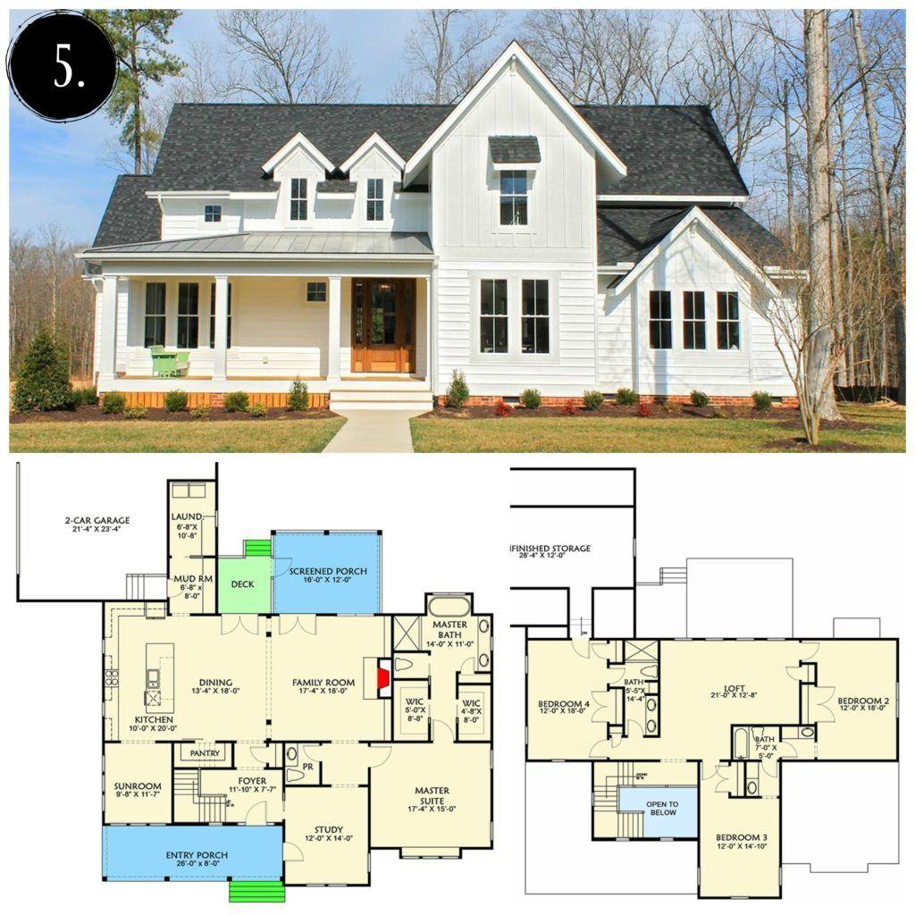 12 Modern Farmhouse Floor Plans Farmhouse Floor Plans Modern Farmhouse Floorplan Farmhouse Layout